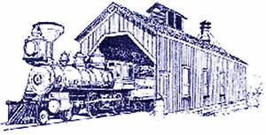 SP NARROW GAUGE ENGINE HOUSE S Sn3 Model Railroad Unpainted Wood Kit CM52401