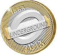 2013 £2 LONDON UNDERGROUND ROUNDEL 150TH TWO POUND COIN HUNT 26/32 RARE 2 xx