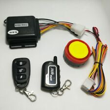 PP 2 Way Motorcycle Anti-theft Alarm Security System Remote Control Universal