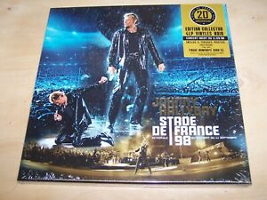 Johnny Hallyday : Stade de France 98 (coffret)