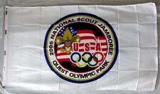 2005 National Jamboree Flag Mint Nj Official Boy Scout Olympic Event 3'x5' Flag