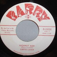 "45 7"" CURTIS LEACH Highway Man/Oklahoma Home of My Heart BARRY CANADA NEAR MINT"
