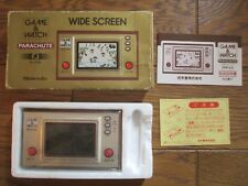 NINTENDO GAME AND & WATCH Parachute 1981  Complete w/ BOX Manual & Bag