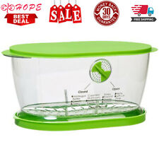 Tupperware Lettuce Keeper Storage Containers Produce Saver Prep Solutions New