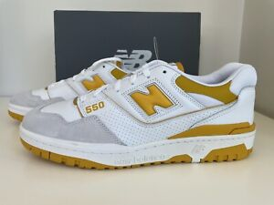🔥👀 New Balance 550 Yellow/Gold. Brand New-Size 12- In Hand Ready To Ship! 🔥👀