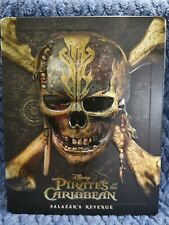 Pirates of The Caribbean Salazar's Revenge 2D/3D Bluray Steelbook. UK Exclusive