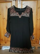 Bronze and Black Selwar Kameez dress