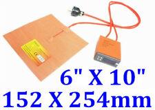"""6"""" X 10"""" 152 X 254mm  200W w 3M w Digital Control Thermostat Printer Heater Pad"""