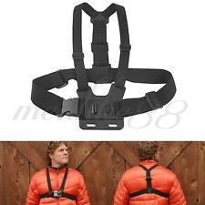 Adjustable Flastic Chest Harness Strap For GoPro Go Pro Camera Hero HD 1 2 3 3+