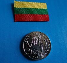 Coin of Lithuania Lituania Lituanie University of Vilnius - rare 2004 - UNC