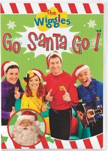 THE WIGGLES GO SANTA GO New Sealed DVD