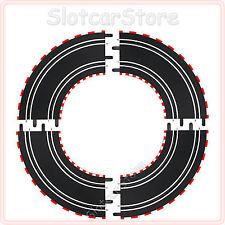 Carrera Go 4x curva 1/90 ° k1 (61603) 1:43 anche Digital 143 rotaie