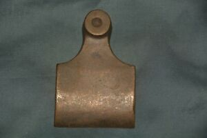 """Bronze lever cap casting for Norris-type English wood fill plane 2 1/4"""""""