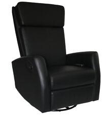 KMH® Massagesessel Fernsehsessel schwarz Relaxsessel Liege TV Sessel Relaxliege