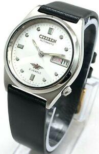 Men's Citizen 8200 Day Date 32mm Automatic 21-Jewels Wrist Watch B2604