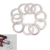 10pcs vélo pédale Spacer manivelle vélo acier inoxydable rondelles anneau