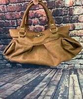 Gorgeous Brown Leather Paolo Masi Shoulder Bag