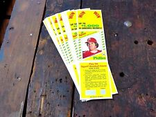 1982 Topps Pete Rose uncut Squirt panels lot of 28 htf