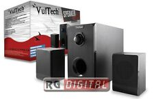 CASSE SPEAKER 2.1+ SUB PER PC NOTEBOOK 25W RMS HOME THEATRE VULTECH SP-2008