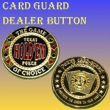 Poker Dealer Button Card-Guard - Hold'em Chips Guards Nr. 1164