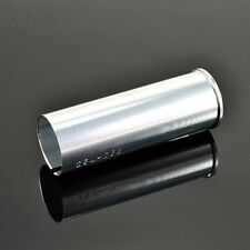 26.8 Seat post to 25.4 Seat Tube Shim Adapter , 80mm,Silver