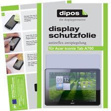 Dipos Antireflex Displayschutzfolie für Acer Iconia Tab A700 Displayfolie