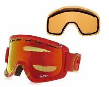 Dragon D1 Snow Goggles With Bonus Lens Tango Icon/Red Ion+Amber RL 722-4287