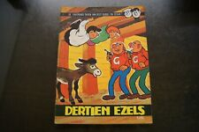 Strip - Dees Dubbel & Cesar - Dertien Ezels