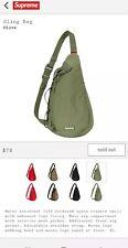Supreme FW20 Sling Shoulder Bag Olive Green