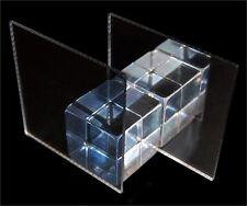 Acrylic 2 Way Mirror A3 420x300x3mm CAST Semi Mirrored High Quality FREE POSTAGE