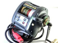 Miya Epoch COMMAND X-2 CX-2 Electric reel + Used PE line Middle condition !