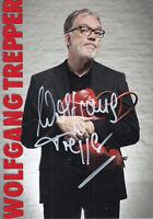 Wolfgang TREPPER - dt. Kabarettist, Original-Autogramm!