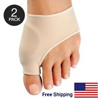 Big Toe Bunion Splint Straightener Corrector 2PCS Foot Pain Relief Hallux Valgus