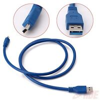 USB 3.0 A Male to Mini 10 Pin B Extension Cable Adapter Cord 3ft HDD PC 4.8Gbps