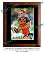 ROBBIE FARAH WESTS TIGERS RUGBY STAR A3 PHOTO PRINT 3