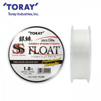 TORAY-HIGH POSITION FLOAT white150m #1.8~5.0 Floating Fishing Line Ship Free