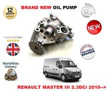 Per RENAULT Master Bus Van 2.3 DCI t28 t33 t35 t45 2010 - > NUOVA POMPA DELL'OLIO DIESEL
