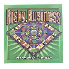2001 RISKY BUSINESS Board Game By Adventure Games OOP