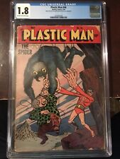 May, 1954 - Plastic Man #46 - CGC Grade 1.8 (Golden Age)