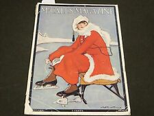 1916 JANUARY MCCALL'S MAGAZINE - FASHION ILLUSTRATIONS - CUT OUT PAGE - ST 171