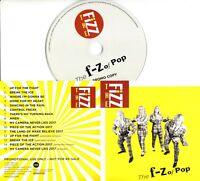 THE FIZZ The F-Z Of Pop 2017 UK 15-trk promo test CD Bucks Fizz