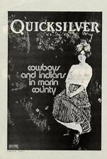 Quicksilver Messenger Service Interview/article ZigZag Clipping 1974 #1 ABCD