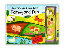 Match and Muddle: Farmyard Fun (Match & Muddle),  | Hardcover Book | Acceptable