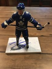 Signed Dion Phaneuf Mcfarlane  NHL  Series 27 Figure Autograph