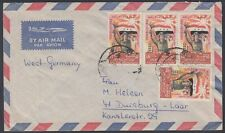 1965 Iraq iraq cover to Germany, giorno dell'Esercito Army Day Soldier Flag [ca804]