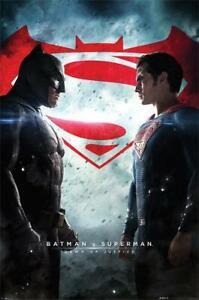 Batman v Superman Dawn of Justice 24 x 36 Inch Maxi Poster Movie Vs Versus