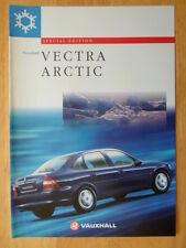 VAUXHALL Vectra Arctic Special Edition 1997 UK Market sales brochure