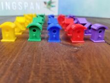 (40) Wingspan Birdhouse Token Upgrade [Handmade Action Movers Markers Component]
