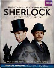 Blu-ray Sherlock - L'abominevole sposa - Special Edition slipcase 2 dischi Usato