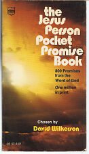 Wilkerson David~Jesus Person Pocket Promise Book,800God's Promises(1983)VRY GOOD